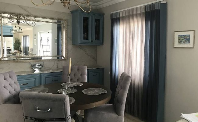 Sheer fold blinds combine the beauty and elegance of drapes with the practicality of vertical blinds